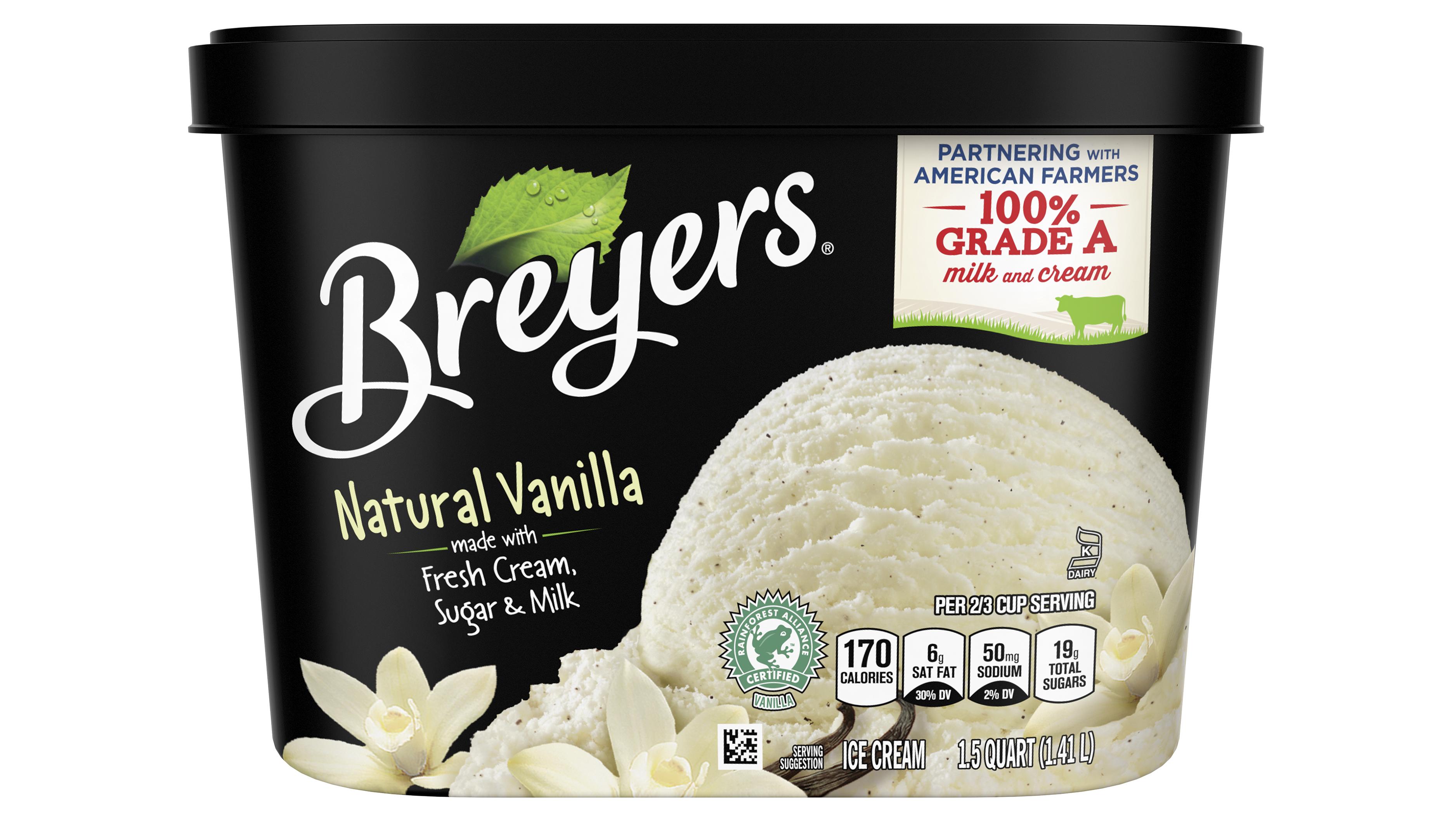 Breyers ice cream