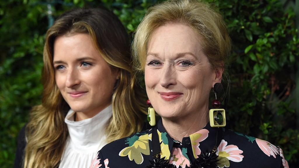 Meryl Streep with daughter Grace