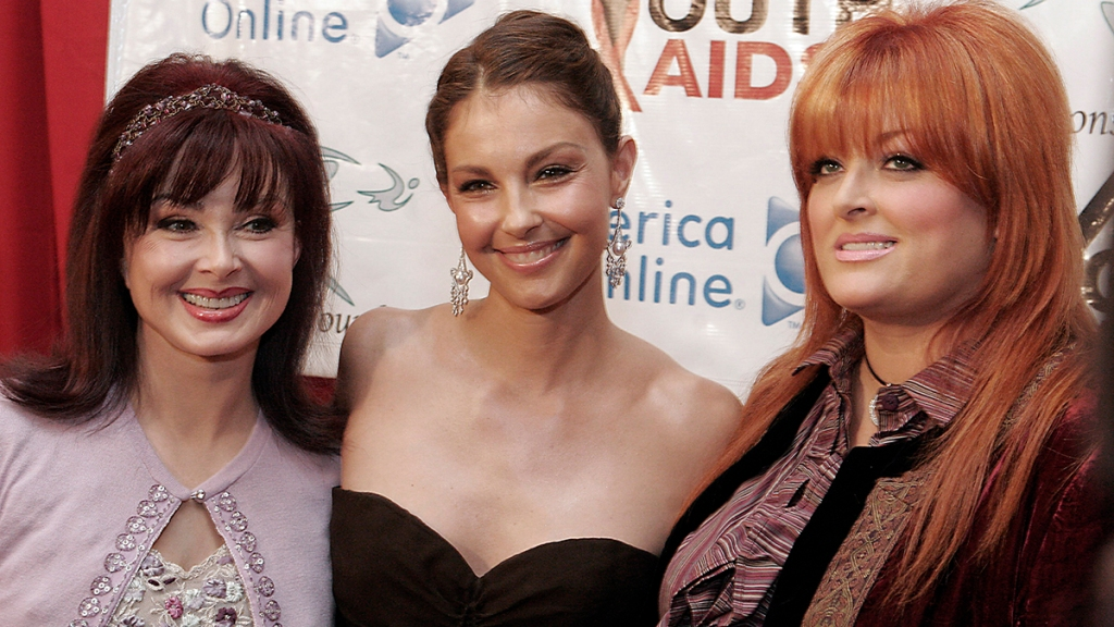 Naomi Judd with Wynonna and Ashley