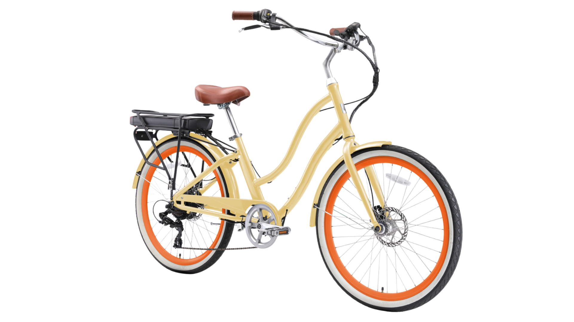 EVRYjourney 500W 7 Speed Electric Hybrid Bicycle best electric bikes for women