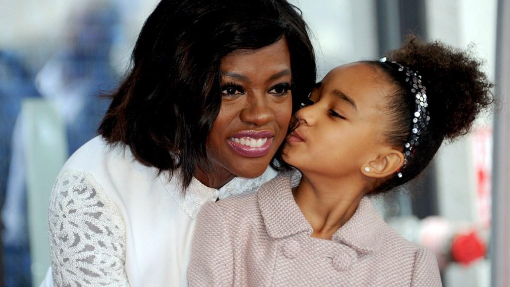 Viola Davis and her daughter Genesis