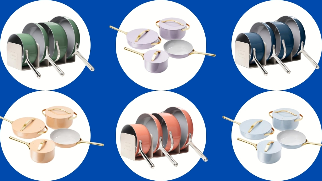 new limited edition carway cookware set colors