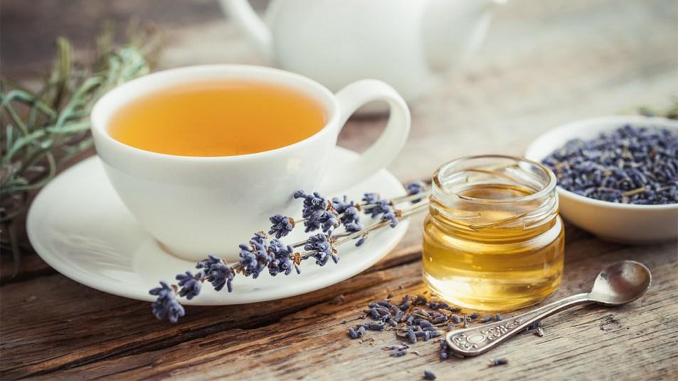 Lavendar tea