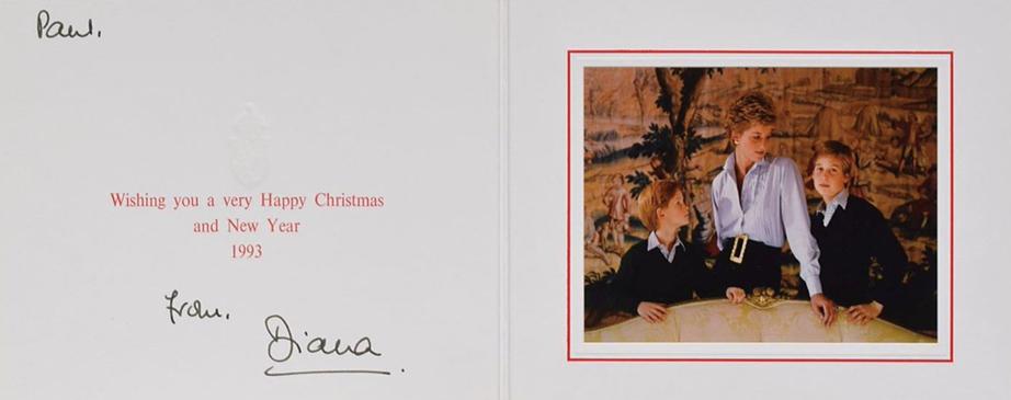 Royal Family 1993 Xmas Card