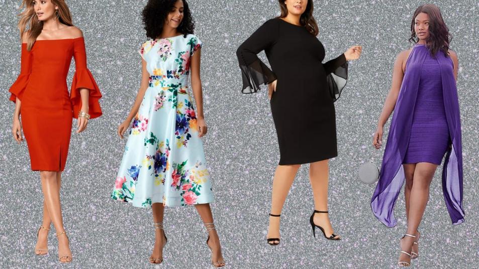 best cocktail dresses for women over 50