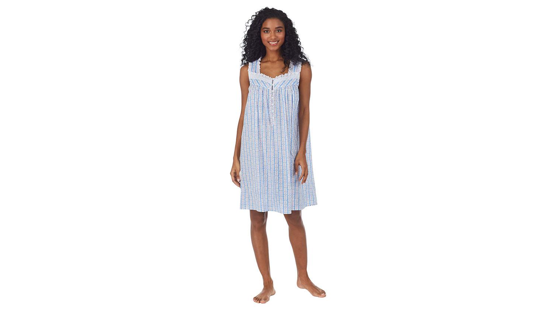 short cotton nightgown