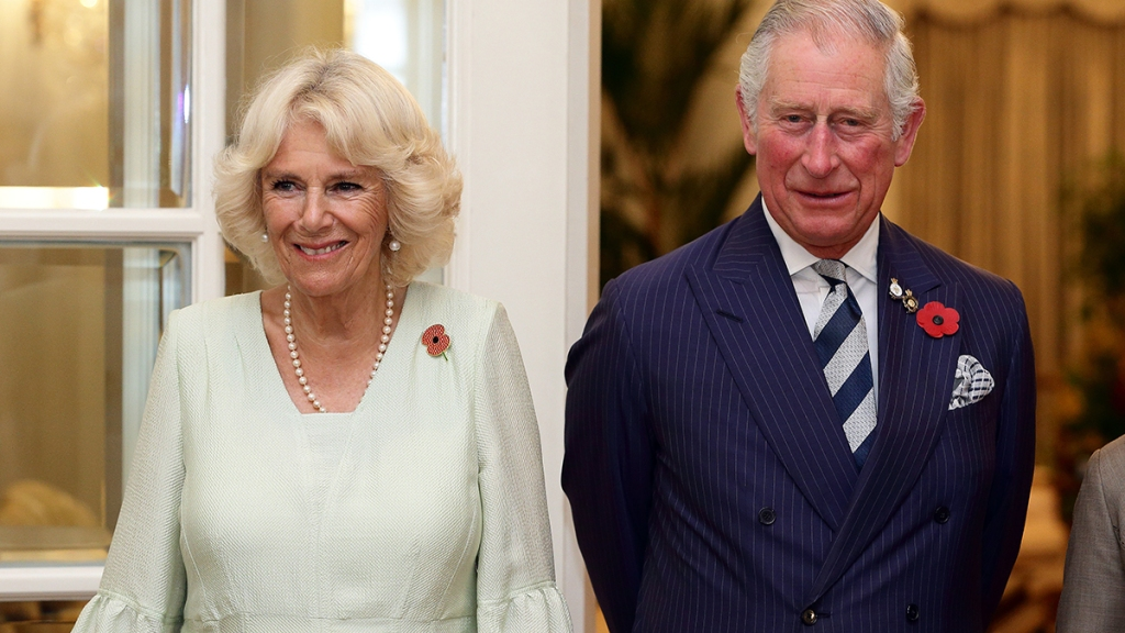 Camilla and Prince Charles