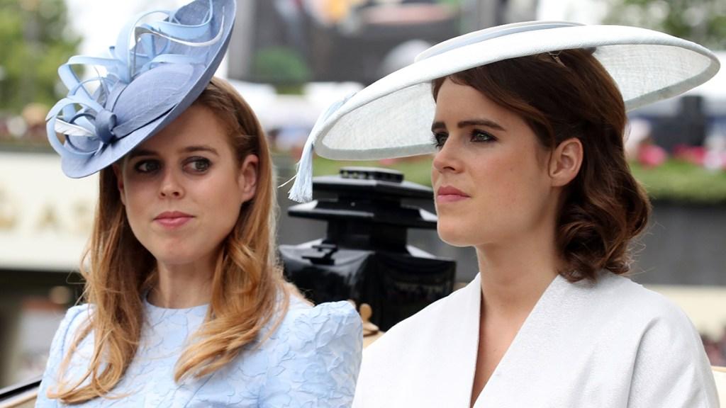 Princess Beatrice and Eugenie