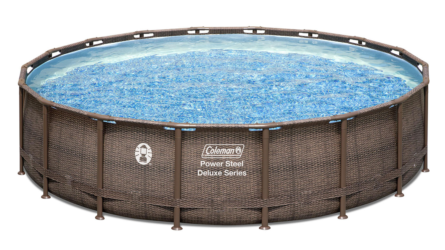 round coleman above ground pool for adults