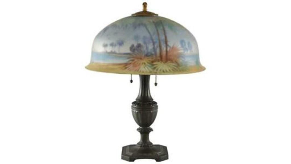 Antique Pairpoint Lamp