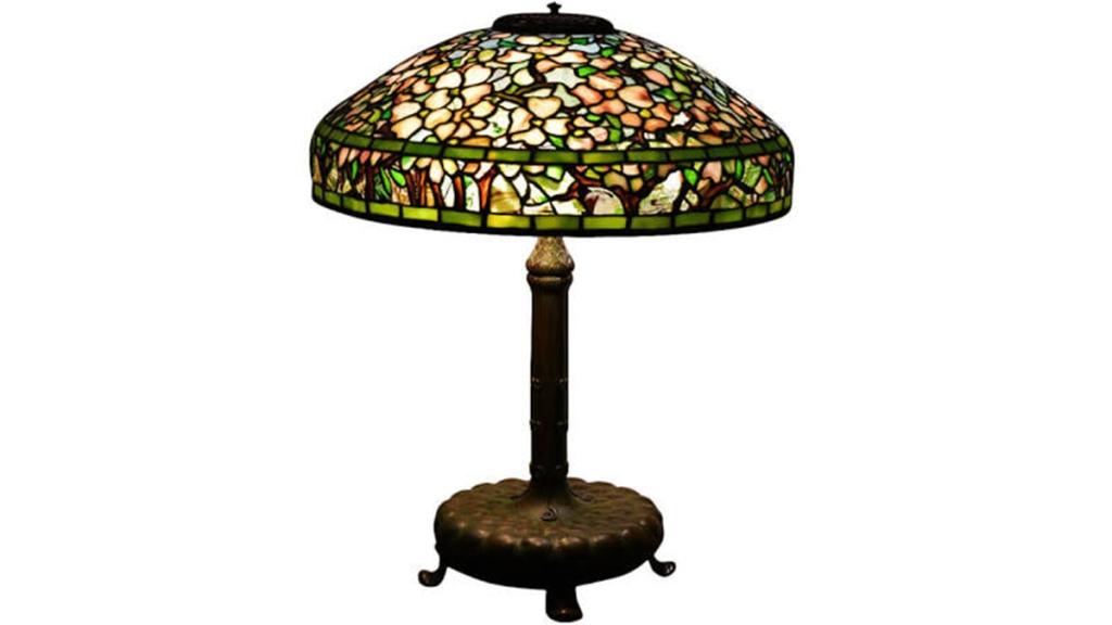 Antique Tiffany Studios lamp