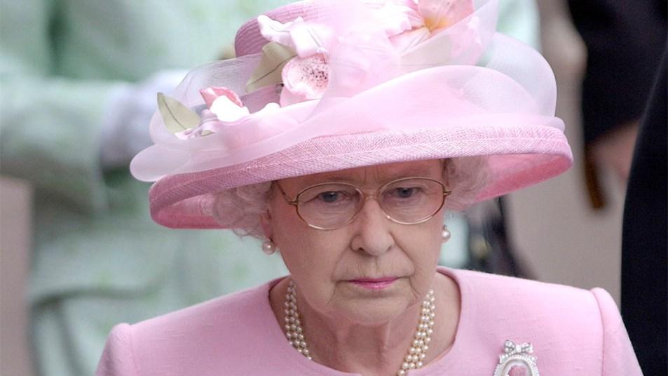 Queen Elizabeth upset
