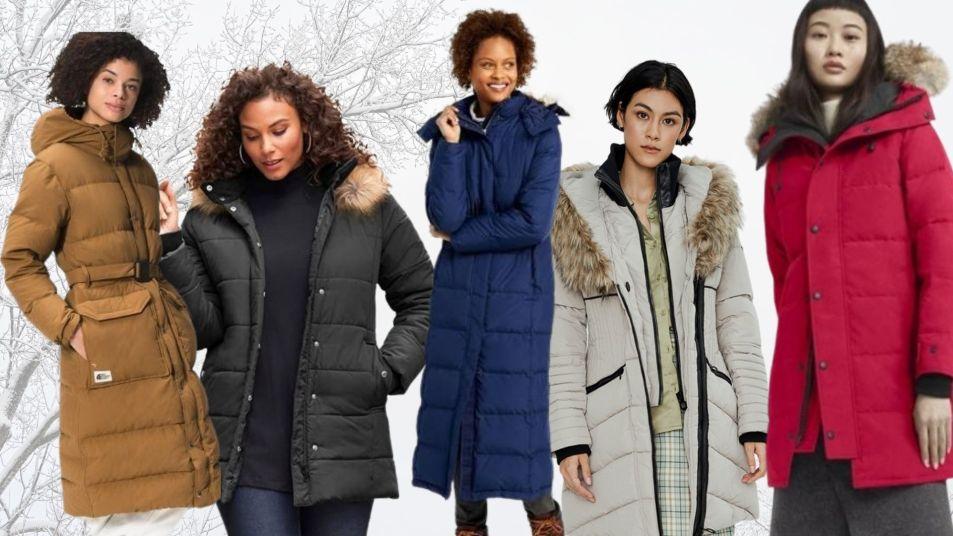 best puffer coats for women