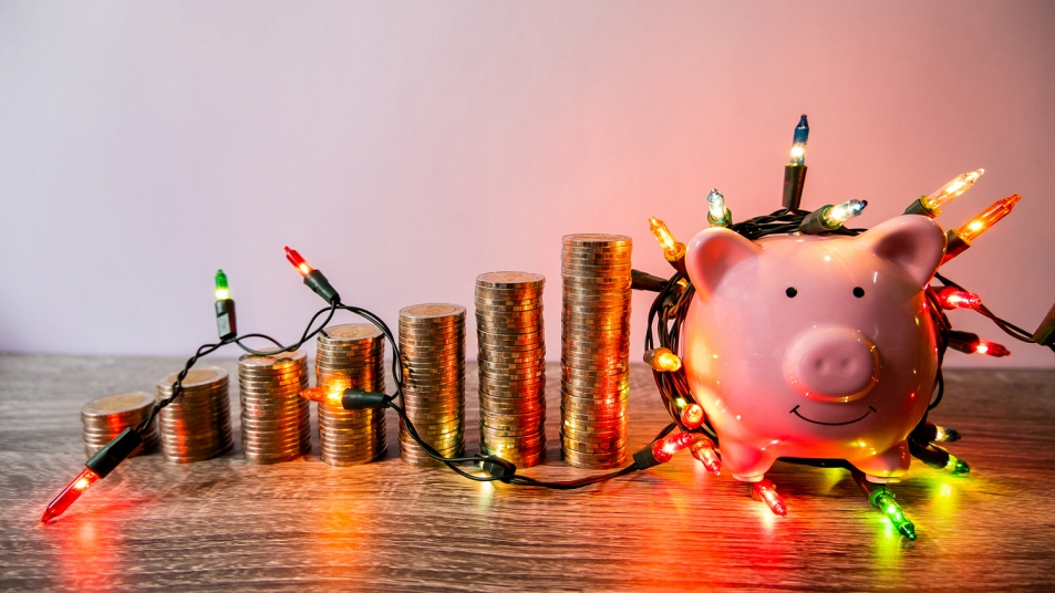 holiday deals piggy bank