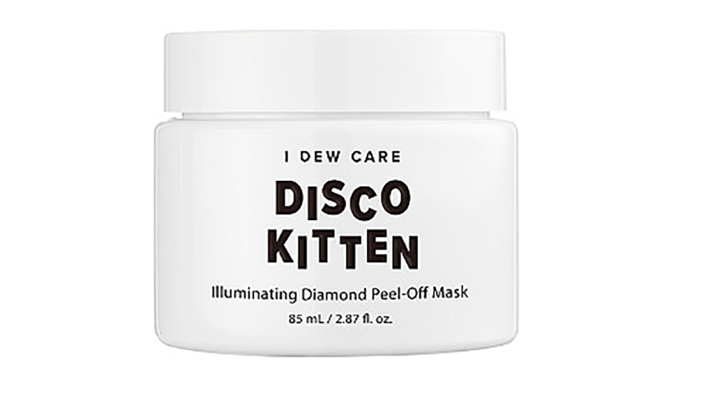 disco kitten diamond mask