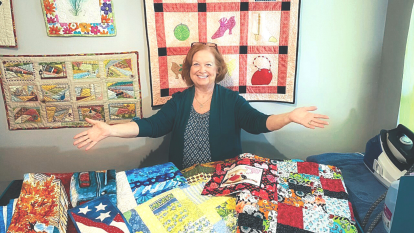 Carol Ann Ferrari-Rodgers quilting business