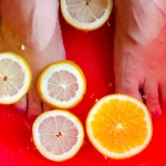 Fruits pedicure