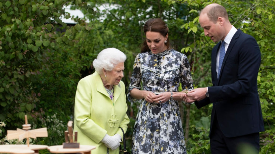 William, Kate and the Queen