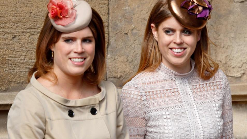Princess Beatrice and Princess Eugenie