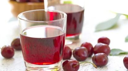 Cherries and cherry juice