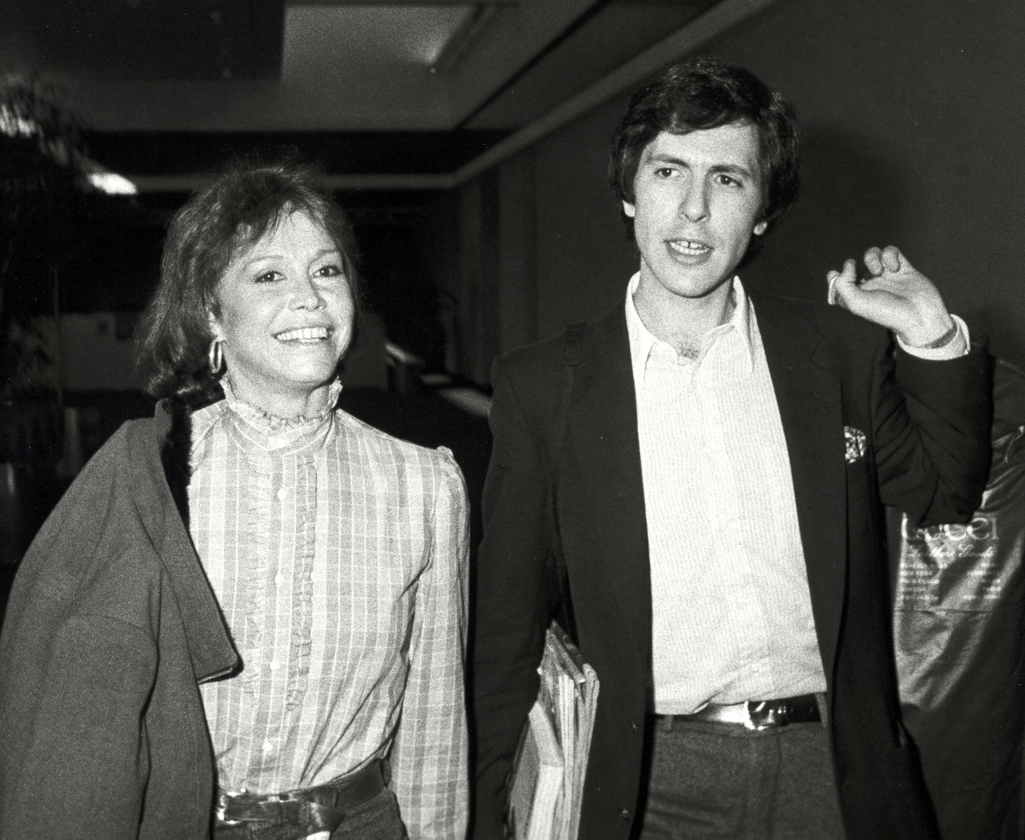 Mary Tyler Moore and Robert Levine 1983