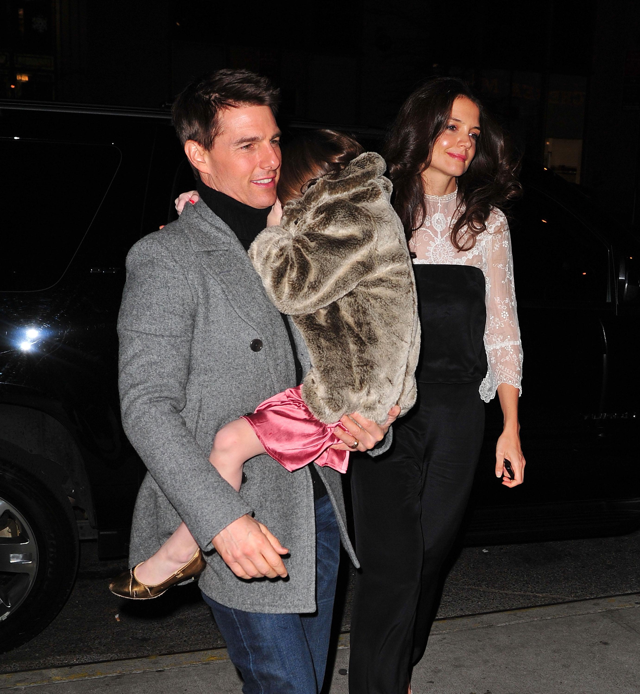 Tom Cruise Katie Holmes Suri Cruise