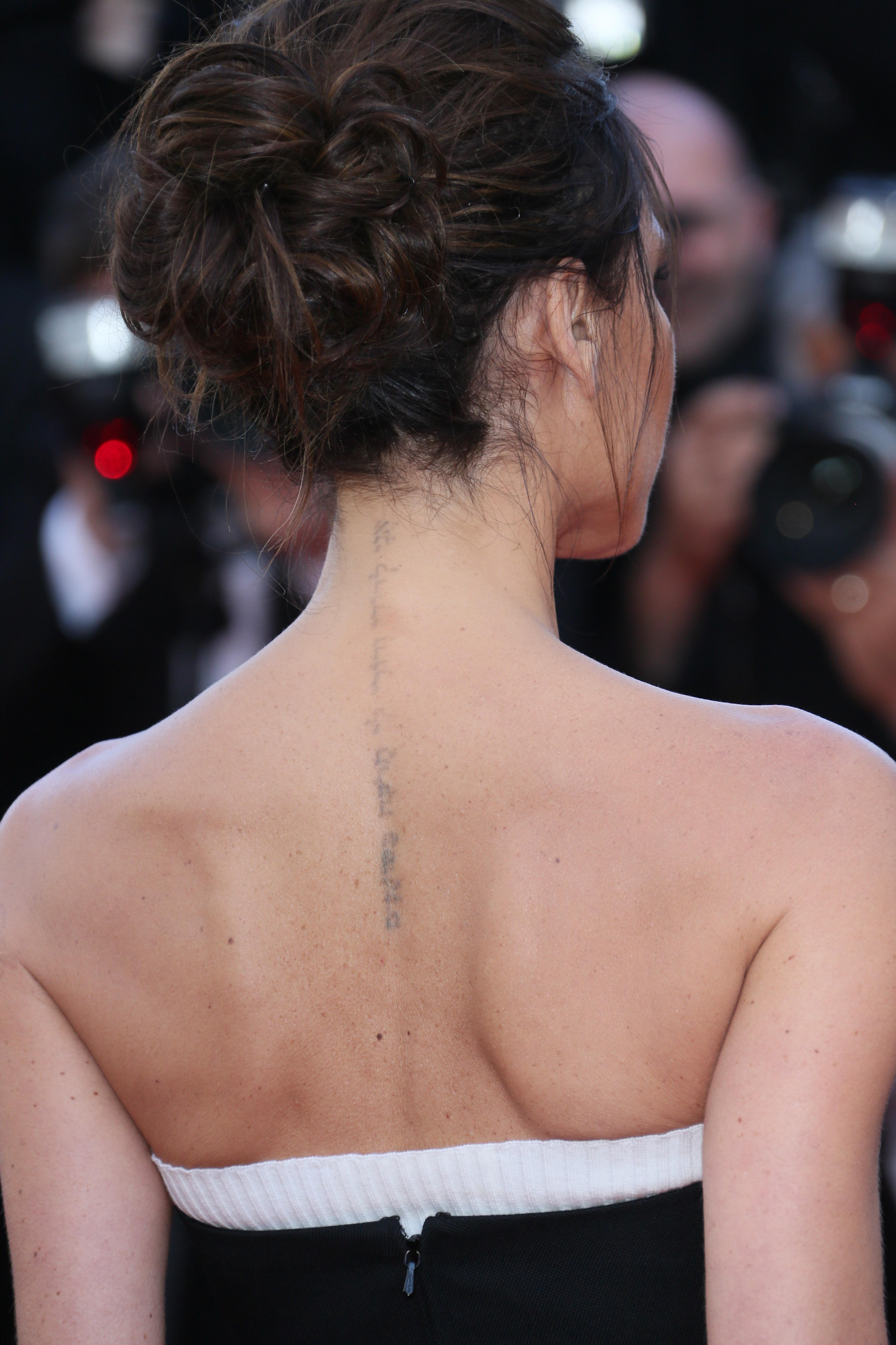 Victoria Beckham Tattoo 2016