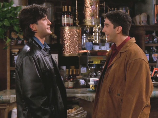 Russ on Friends David Schwimmer