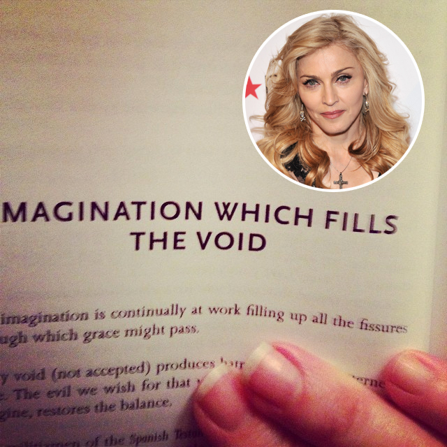 madonna book recommendation
