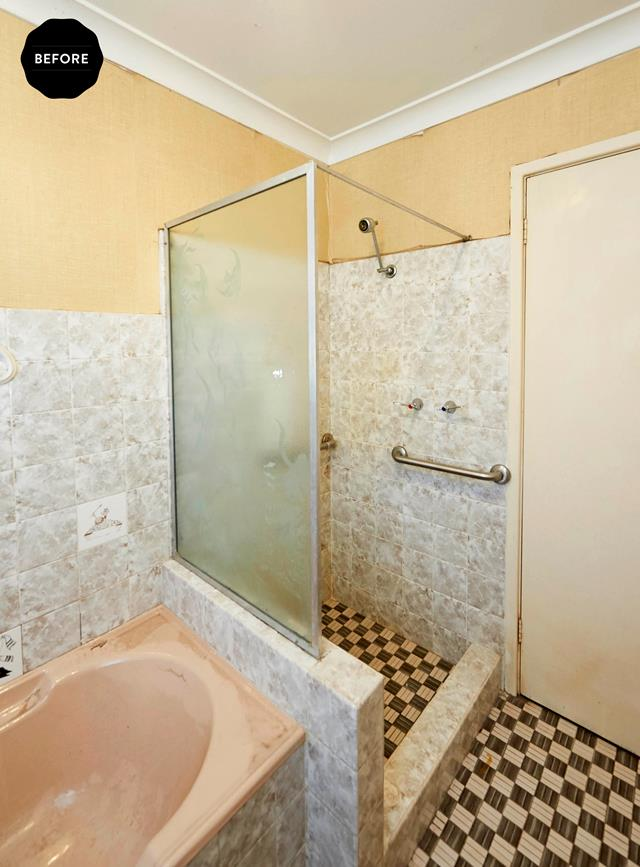Bathroom Budget Makeover