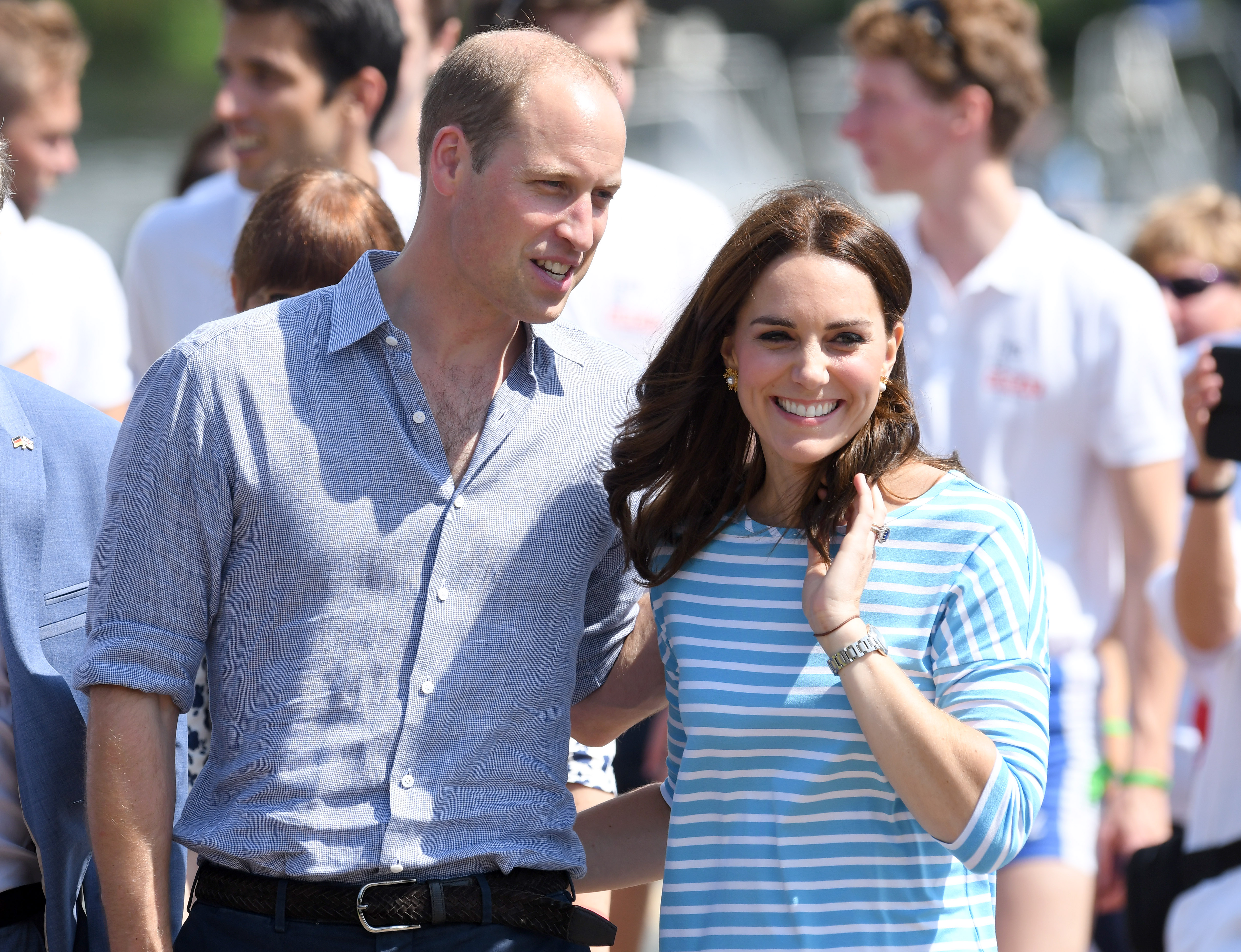 kate and william pda