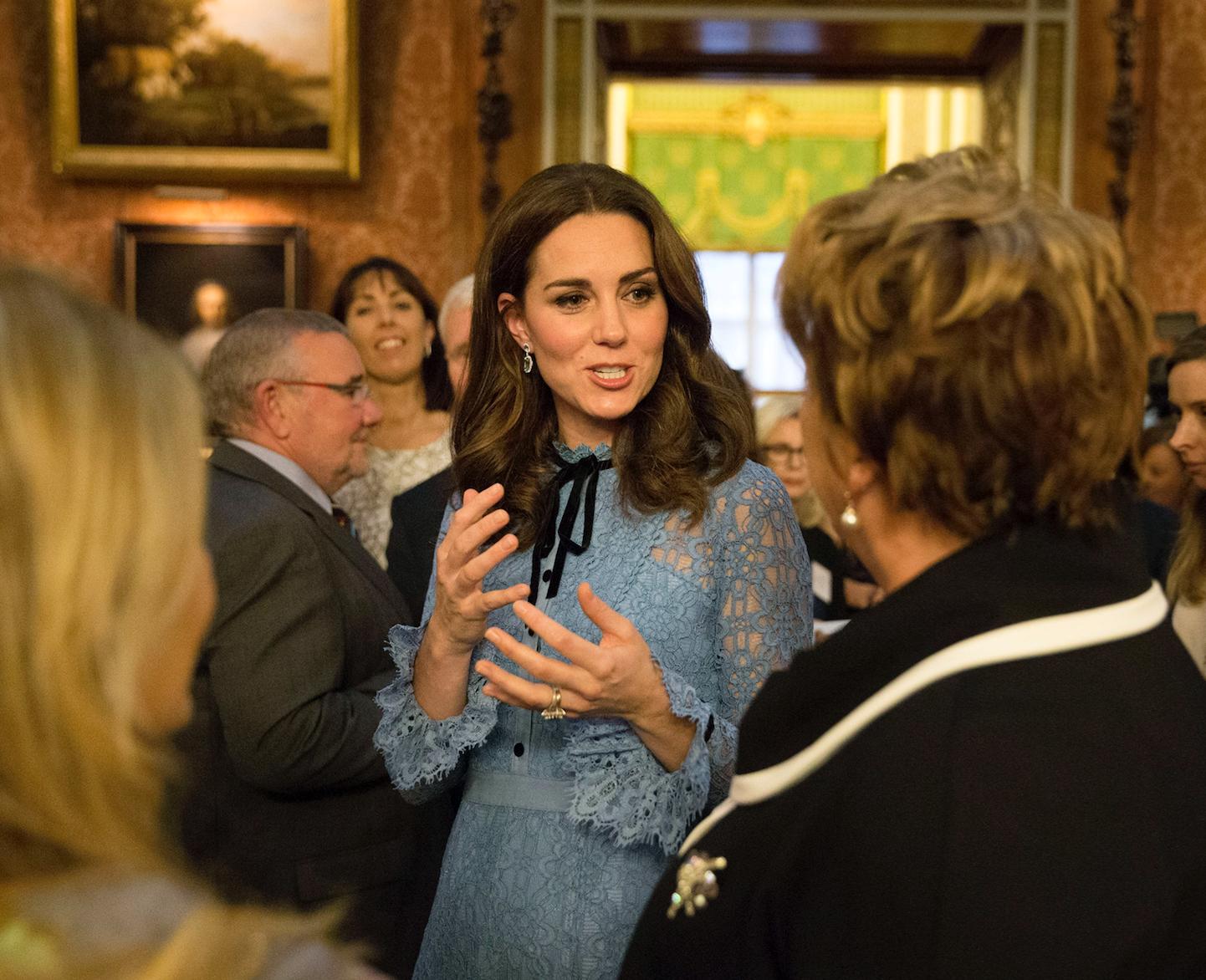 Kate Middleton Third Pregnancy Bump