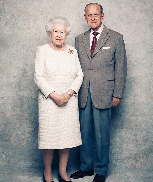 queen and prince anniversary photo