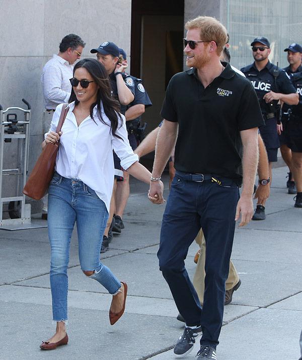 Prince Harry Meghan Markle Engaged Invictus