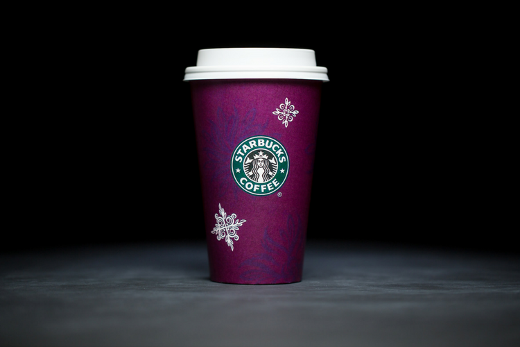Starbucks Christmas Cups 1998
