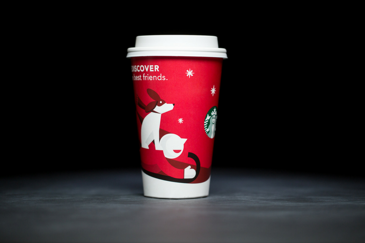 Starbucks Christmas Cups 2011