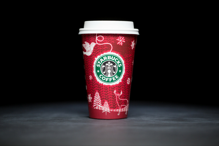 Starbucks Christmas Cups 2008