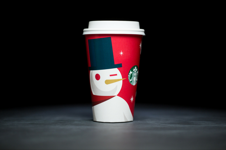 Starbucks Christmas Cups 2012