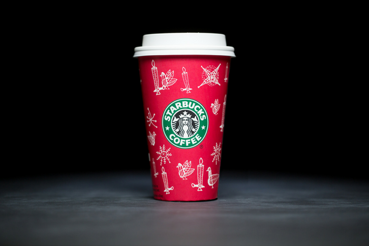 Starbucks Christmas Cups 2002