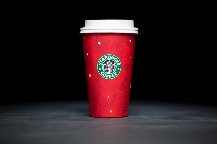Starbucks Christmas Cups 2003
