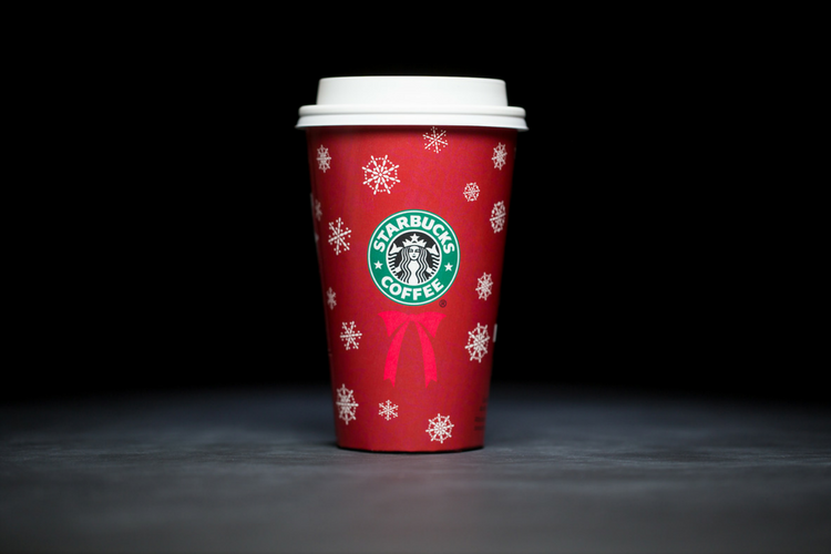 Starbucks Christmas Cups 2004