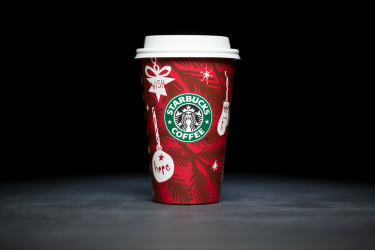 Starbucks Christmas Cups 2009