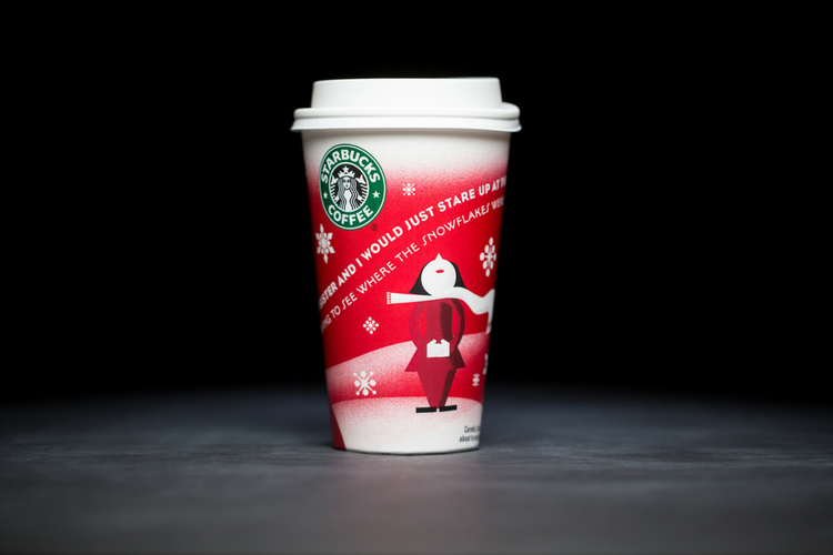 Starbucks Christmas Cups 2010