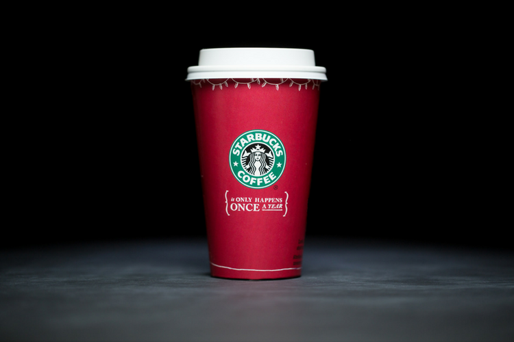 Starbucks Christmas Cups 2005