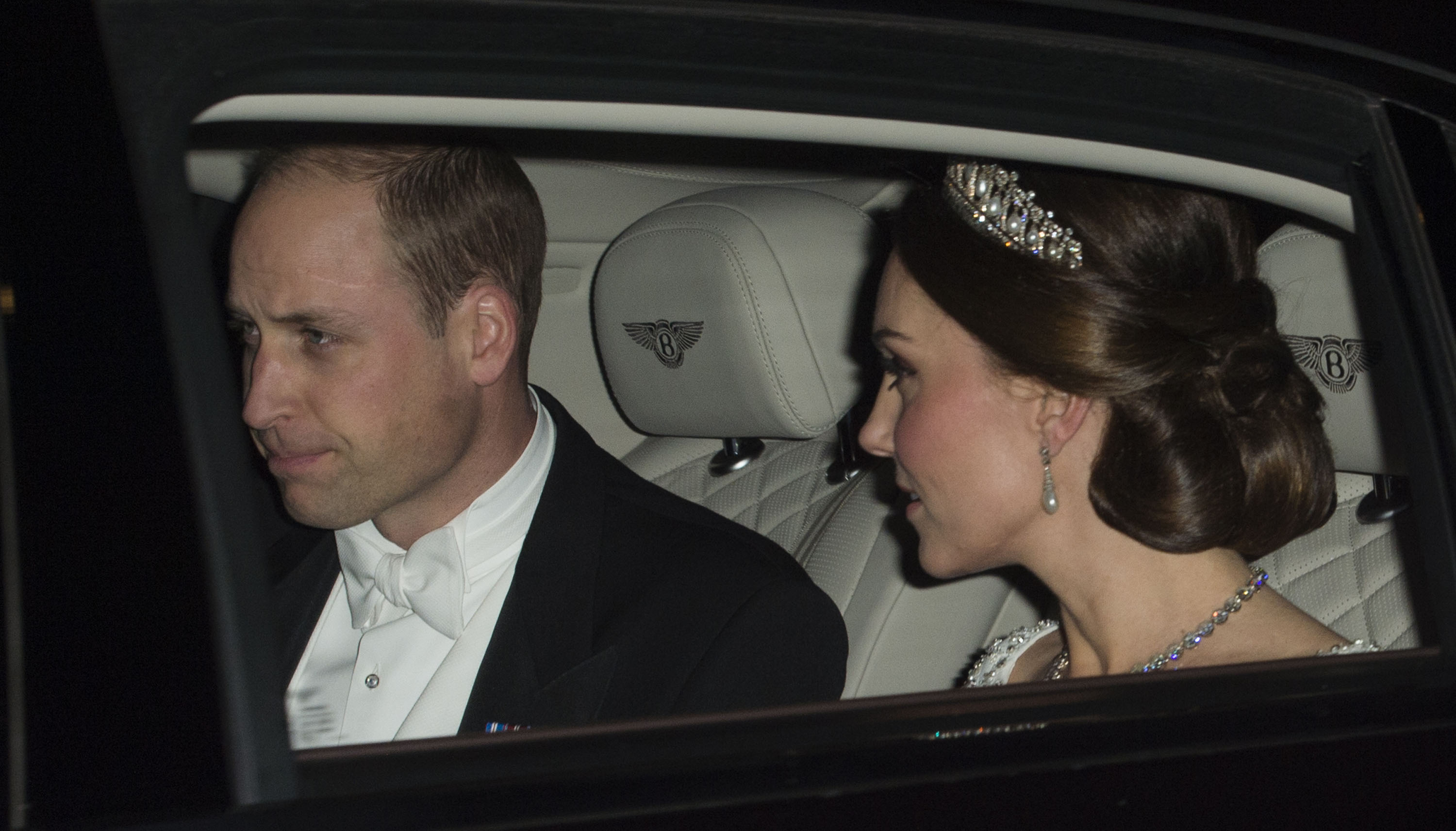 kate and william diplomatic reception