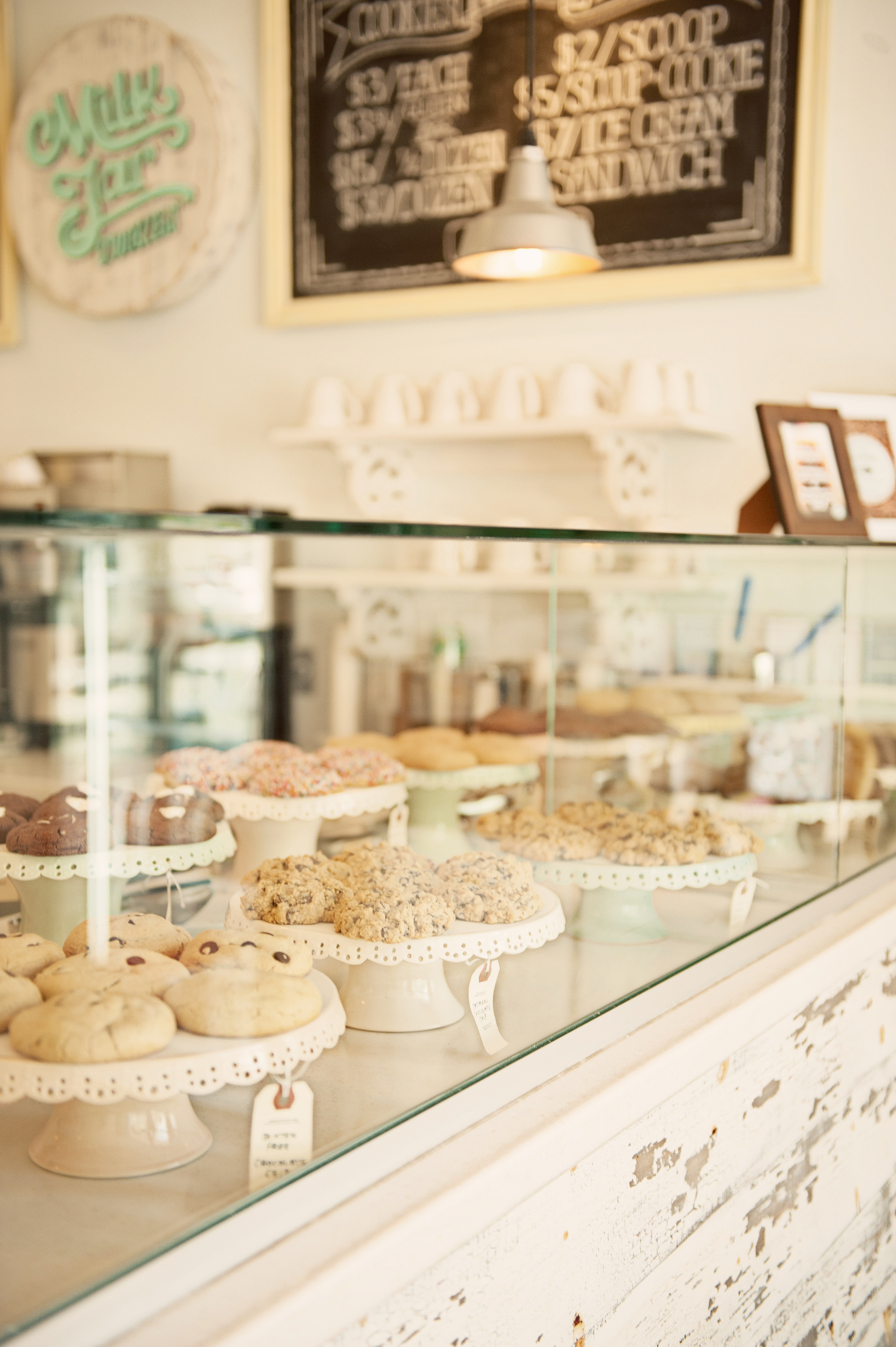 Milk Jar Cookies Shop