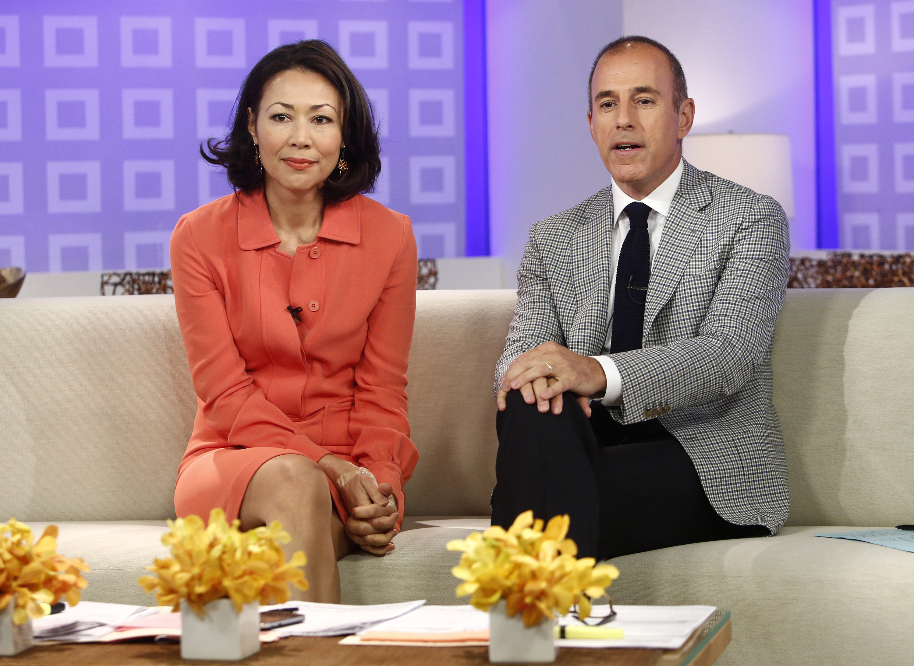 Ann Curry Matt Lauer Getty Images