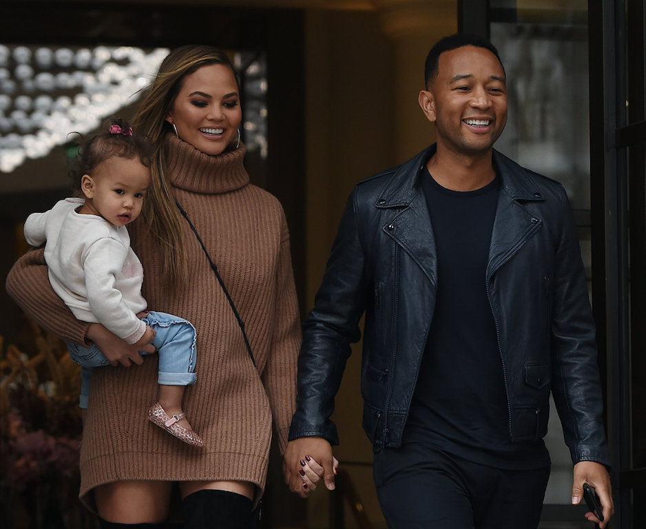 Chrissy Teigen John Legend Luna Stephens