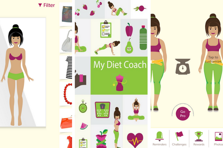 My Diet Coach Screen Shot