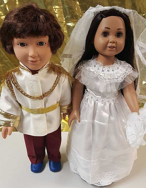 prince harry meghan markle dolls